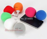 Fashion Hotsell Multi-Color Creative Mini Music Balloon Speaker Cute Music Ball for ipad iphone ipod Samsung