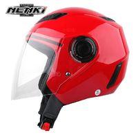 NENKI N655 racing motorcycle helmet electric bicycle helmet antimist len / Thirteen optional bright pure color and fairy pattern