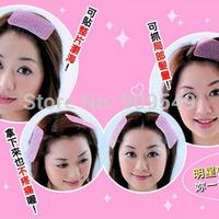 bangs fixed Seamless posts bangs paste Hair rope sticker clip Bang Magic stick hair tool Makeup helper makeup tool  20packs/lot