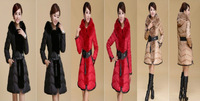 Women Winter Fur Collar Slim 90% down jacket down coat Outerwear Jacket