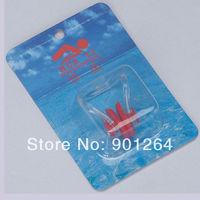 Hot sale Water Sport Safety Ear Plugs Waterproof Soft Fashion Silicone Swimming Earplugs (China (Mainland))