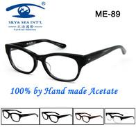 Free Shipping Original Designer 100% Handmade  Elegant Wayfarer Acetate Frame Glasses