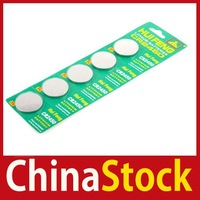 super fashionable [ChinaStock] 5 CR2450 2450 ECR2450 KCR2450 5029 Button Cell Battery wholesale Limited Sales!