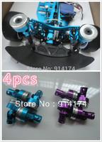 free shipping 1/10 RC Car accessories/parts  metal  body shell column for 1:10  RC Drift car/Monster Truck car 4pcs/set