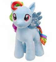 Free Shipping My Little Pony Plush toy,Build a Bear 40cm Plush Pony Rainbow Dash,My Little Pony toys Stuffed Animals