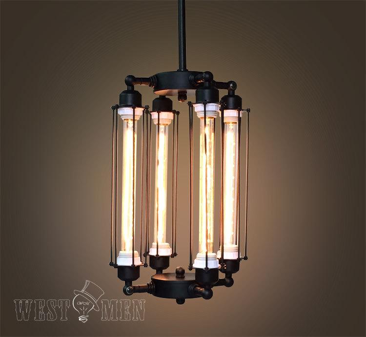 Mason jar lighting mason jar chandelier mason jar lamps lights - Modern New Design Vintage Steampunk Retro Industrialcage