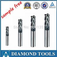 Carbide end mill HRC45 carbide cutting tool
