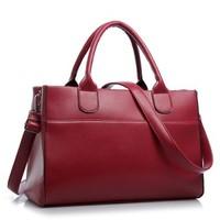 hot sale women's handbag vintage bag shoulder bags PU leather clutch purses for ladies designer totes red black blue 3 colors