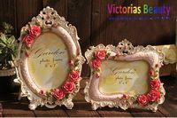 Victorias European Rose Resin Frame , vertical & horizontal Frame, pastoral classic style  , free shipping