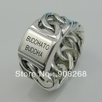 Free shipping cost Fashion jewelry Antique silver plated rings R-BTB0160