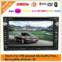 Volkswagen VW Passat B5 B6 Old Jetta Car DVD Player VW Polo Bora Golf 4 CAR DVD SYSTEMS DVD GPS NAVIGATION Free map& shipping