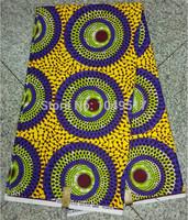 Real Super Wax Prints Hollandais 100% Cotton Fabric Textile 6 Yards wholesale WL0721G