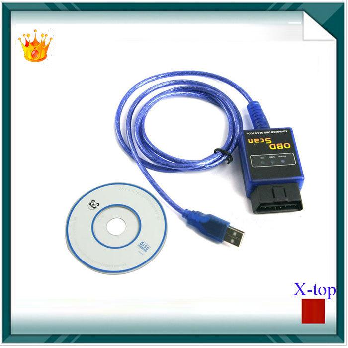 Veículo San ferramenta ELM327 Auto Motor Car cabo de diagnóstico elm 327 Interface USB OBD II OBD2 OBD 2 OBD-ii veículo Scanner(China (Mainland))