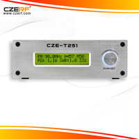 Free Express Delivery CZE-T251 25w Amplifier Broadcast Radio Station FM Transmitter Kit