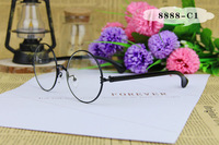 Free Shipping  Round  Glasses Frame   Eye Glasses   Optics  Optical  Spectacle  Clear Glasses  Eyeglasses Frames Men/Women 8888