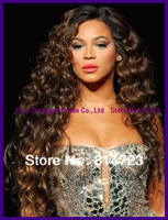Fashion Wigs Brazilian AAAAA Virgin Remy human hair glueless wavy Heavy 150% denisty Full lace wigs & Front lace wigs Glueless