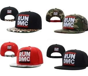 Run dmc cap hiphop baseball cap bboy hat snapback adjustable flat along the cap wholesale and free shipping rundmc(China (Mainland))
