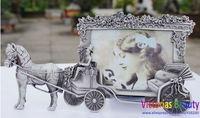 "Victorias European classical retro photo frame , 5"" frame, creative wedding, birthday gift,  princess carriage, free shipping"