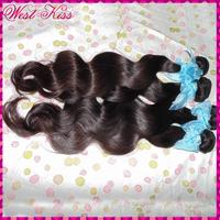 """Fasion HOT beauty Russsian Virgin hair wefts body wave 4 mixed bundles(12""""-30""""),high standard 7A Cabelo"""