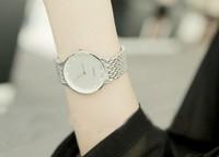 famous brand men steel watches unisex women dress watch luxury high quality jelly quartz classic lady watch