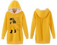 2014 Winter Korean fashion cute cartoon pattern sweater Free Shipping