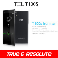 "Original THL T100S MTK6592 Octa Core Cell Phone 1.7GHz RAM 2GB ROM 32GB 5.0"" 1920x1080 IPS Gorilla Glass Screen Dual 13MP Camera"