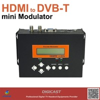 mini HDMI to DVB-T Modulator, turn HDMI Video to DVB-T RF signal.