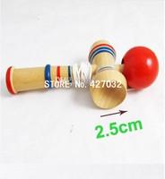 Children Educational Toy Funny Bahama Traditional Wood Game Skill Kendama Ball 500pcs & Free shipping
