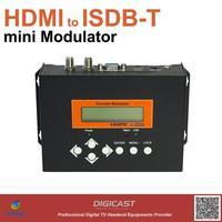 mini HDMI to ISDB-Tb converter for HD signals distribution