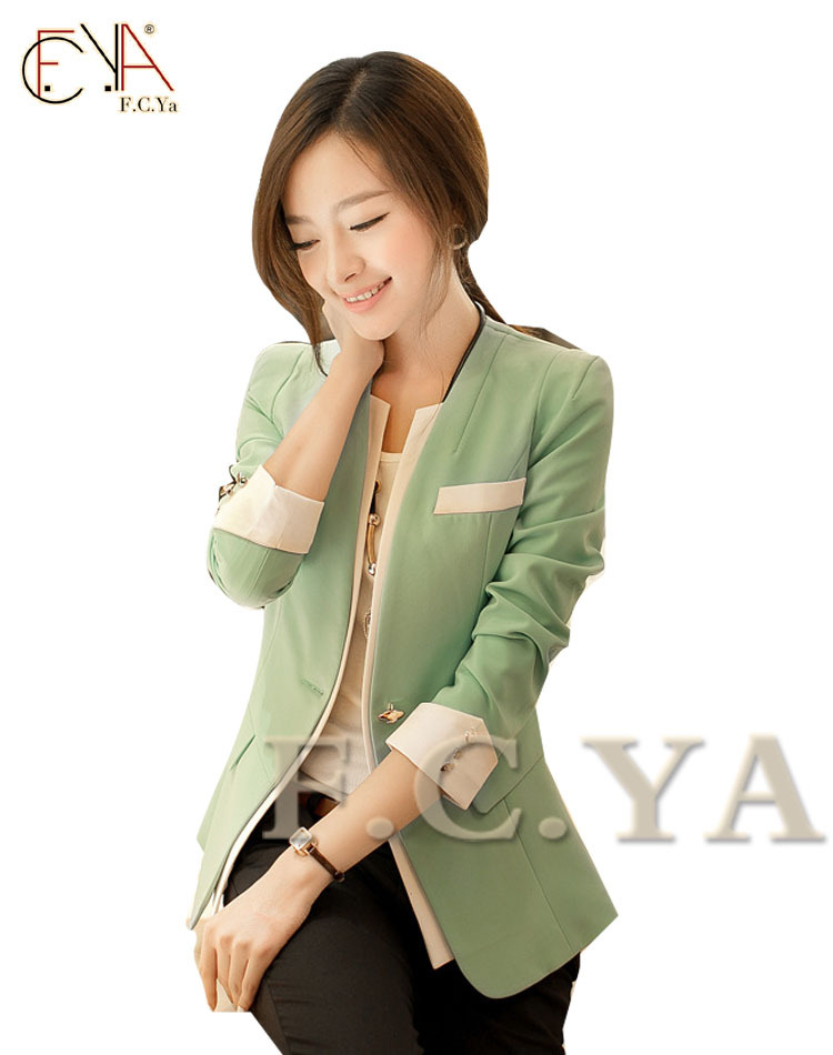 Hitz Korean fashion wild temperament ladies lady Slim small suit jacket manufacturers, wholesale women NO.H23302G2(China (Mainland))