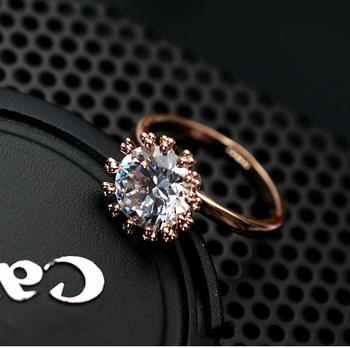 2014 новый распродажа австрия кристалл настоящее Italina 18 К розового золота подлинная ...
