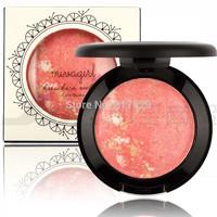 Wholesale Price 2015 Brand New MIVAGIRL Makeup Baked Blush Palette Baked Cheek Color Blusher Blush