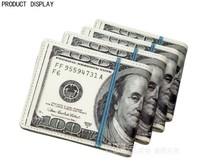 Free Shipping Unisex Personality US Dollar Wallet For Fashion,Fashion 100 Dollar Purse,PU Mini Fold Wallet Purse