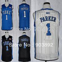 Ncaa Duke Blue Devils #1 Jabari Parker college basketball jerseys mix order free shipping