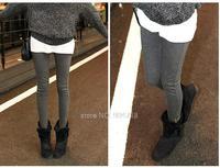 2013 winter women warmth velvet leggings slim fit insulated pants warm women trousers D331