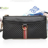 Small bags 2014 women's clutch large capacity genuine leather clutch bag women's day clutch tote bag