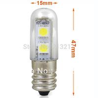 AAA 6PCS 100~240v  E14 1W LED chandelier Bulb Lights Led Indicator Lamp Cabinet Llight Fridge Refrigerator Freezer Chandelier