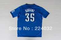 13/14 season #35 DURANT Christmas edition blue jersey