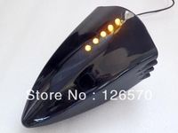 Free Shipping Black Motorcycle LED Turn Signal Pig Spotter Mirror for Yamaha YZF R1 R6 R6S FZR1000 FZR600R