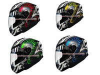 DX-SF1-0058,Mystery Snake Series,Motorcycle Helmet,Composite,4 Colors,COOLMAX Lining,with LED on Rear,DOT Test