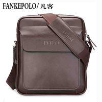 New men's leather shoulder bag Messenger bag leisure bag brand fashion business man bag wholesale, free shipping