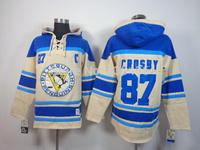 Pittsburgh Penguins #87 Sidney Crosby Old Time Hockey Hoodie Double stiched Hoody Hockey Jerseys Hooded Sweatshirt Top
