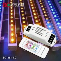 350mA*3CH RGB LED controller 1W RF remote RGB controller 12V led rgb controller