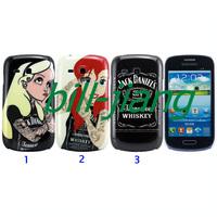 Tattooed Alice in Wonderland Tattoo Ariel Little Mermaid  Hard Case For Samsung Galaxy S3 Mini i8190
