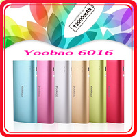Hot Selling 2013 New Portable Power Bank Yoobao YB6016 13000mAh Battery Charger Support Different Electronic Device