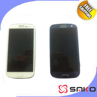Free Shipping For Samsung Galaxy S3 i9300 LCD Display+Touch Screen digitizer+Frame assembly, Original LCD Black/White