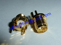 SMA Female Connector 1.0mm for PCB Board Five Leg