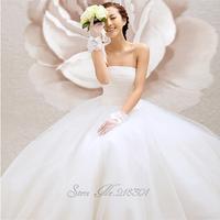 Solid color tube top the bride wedding dress formal dress sweet princess wedding dress bandage new arrival 2013 Bridal