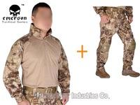 Emerson Tactical bdu G3 Combat uniform Emerson shirt and pants Military US Army BDU set Kryptek Highlander