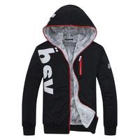 2014 New Fashion Plus Size Winter Men Thermal Hoodies Sport Coats Leisure Men's Sweatshirts High Quality
